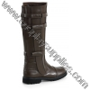 WALKER-130 Brown Faux Leather